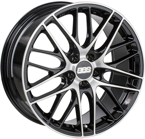 Диски BBS CS029 Black Diamond Cut