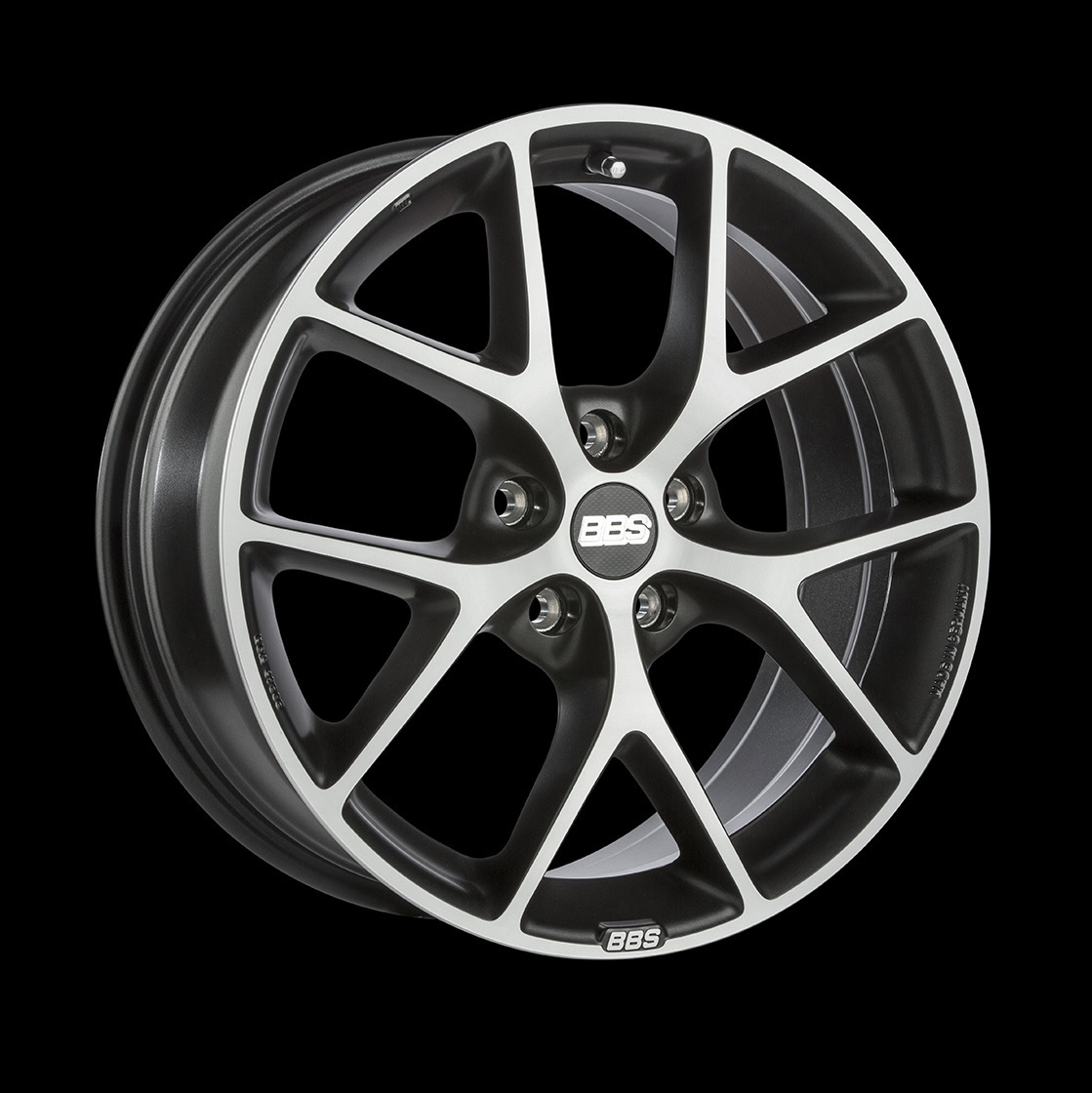 Диски BBS SR035 Vulcano Grey Diamond Cut